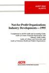 Not-for-profit organizations industry developments - 1995
