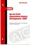 Not-for-profit organizations industry developments - 2000