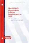 Not-for-profit organizations industry developments - 2006