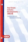 Real estate industry developments - 2005/06