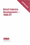 Retail industry developments - 1996/97