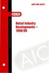 Retail industry developments - 1998/99; Audit risk alerts