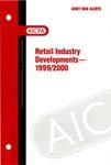 Retail industry developments - 1999/2000; Audit risk alerts