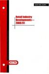 Retail industry developments - 2000/01