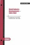 Retail industry developments - 2001/02; Audit risk alerts