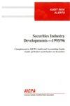 Securities industry developments - 1995/96