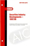 Securities industry developments - 1997/98; Audit risk alerts