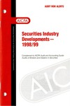 Securities industry developments - 1998/99