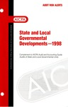 State and local governmental developments - 1998