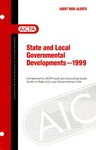State and local governmental developments - 1999
