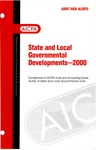 State and local governmental developments - 2000