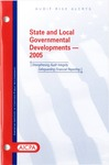 State and local governmental developments - 2005; Audit risk alerts