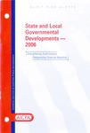 State and local governmental developments - 2006