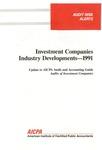 Investment companies industry developments, 1991; Audit risk alerts