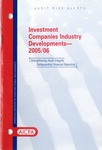 Investment companies industry developments, 2005/06