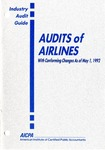 Audits of airlines with conforming changes as of May 1, 1992