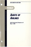 Audits of airlines with conforming changes as of May 1, 1999