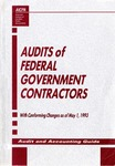 Audits of federal government contractors with conforming changes as of May 1, 1993