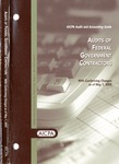 Audits of federal government contractors with conforming changes as of May 1, 2003; Audit and accounting guide: