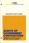 Audits of government contractors (1975); Audit and accounting guide: