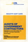 Audits of government contractors (1983); Audit and accounting guide: