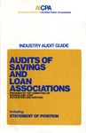 Audits of savings and loan associations (1975)
