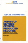 Audits of service-center-produced records (1987)