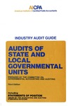 Audits of state and local governmental units (1981)