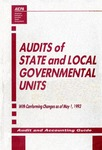 Audits of state and local governmental units with conforming changes as of May 1, 1993