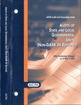 Audits of state and local governmental units (non-GASB 34 Edition) with conforming changes as of May 1, 2003; Audit and accounting guide: