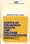 Audits of voluntary health and welfare organizations (1974)