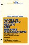 Audits of voluntary health and welfare organizations (1988)