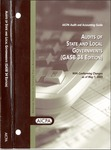 Audits of state and local governments (GASB 34 edition) issued May 1, 2003; Audit and accounting guide:
