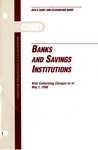 Banks and savings institutions with conforming changes as of May 1, 1998