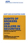 Audits of brokers and dealers in securities (1989); Audit and accounting guide: