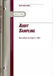 Audit sampling, new edition as of April 1, 2001