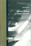 Auditing revenue in certain industries, new edition as of June 1, 2001