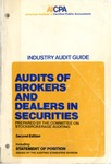 Audits of brokers and dealers in securities (1977)
