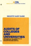 Audits of colleges and universities (1973)