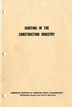 Auditing in the construction industry