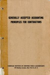 Generally accepted accounting principles for contractors (1959)