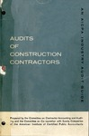Audits of construction contractors (1965); Industry audit guide; Audit and accounting guide