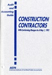 Construction contractors with conforming changes as of May 1, 1992