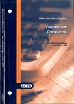Construction contractors with conforming changes as of May 1, 2002; Audit and accounting guide: