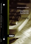 Construction contractors with conforming changes as of May 1, 2003; Audit and accounting guide:
