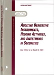 Auditing derivative instruments, hedging activities, and investments in securities, new edition as of March 15, 2001