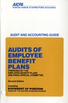 Audits of employee benefit plans (1989); Audit and accounting guide: