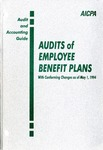 Audits of employee benefit plans with conforming changes as of May 1, 1994