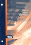 Audits of employee benefit plans with conforming changes as of May 1, 2002