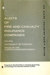 Audits of fire and casualty insurance companies (1977)